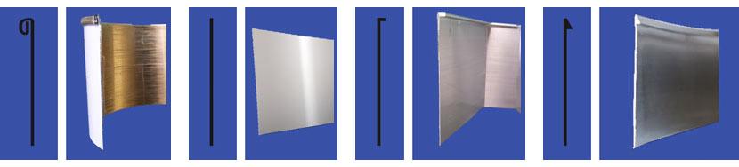 фабрични алуминиеви бордове